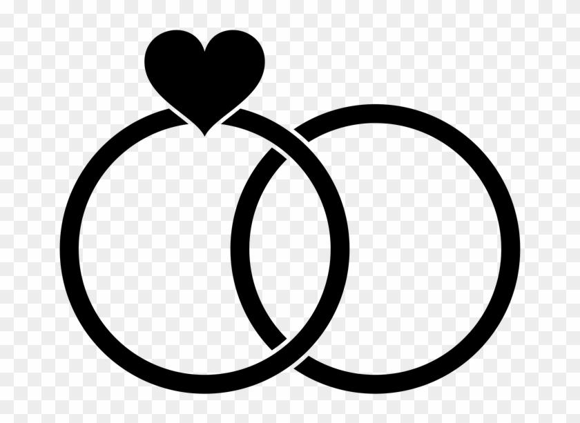 Hochzeit Clipart Schwarz Weiss Kostenlos Wedding Rings Clip Art