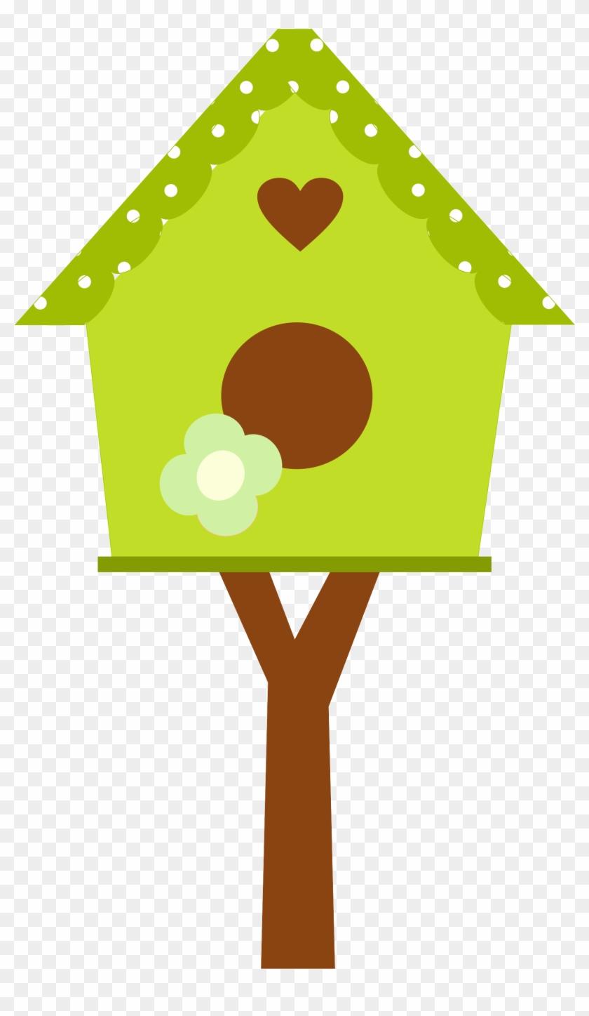 Explore Bird Houses Clip Art And More Casinha De Passarinho