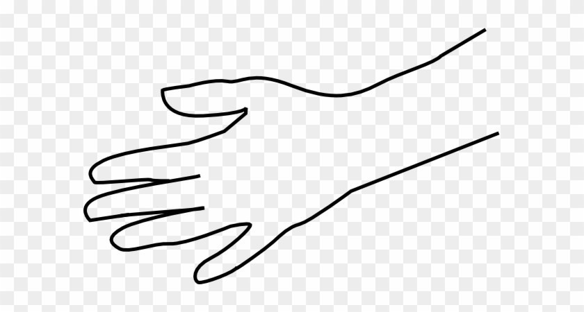 Hand Clipart Kostenlos - Black And White Pictures Of Hand #45681