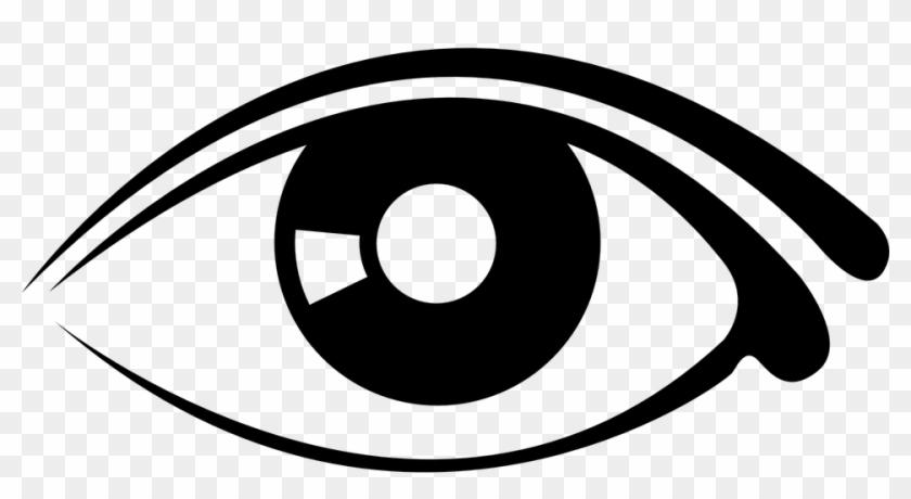 Auge Clipart Schwarz Weiß