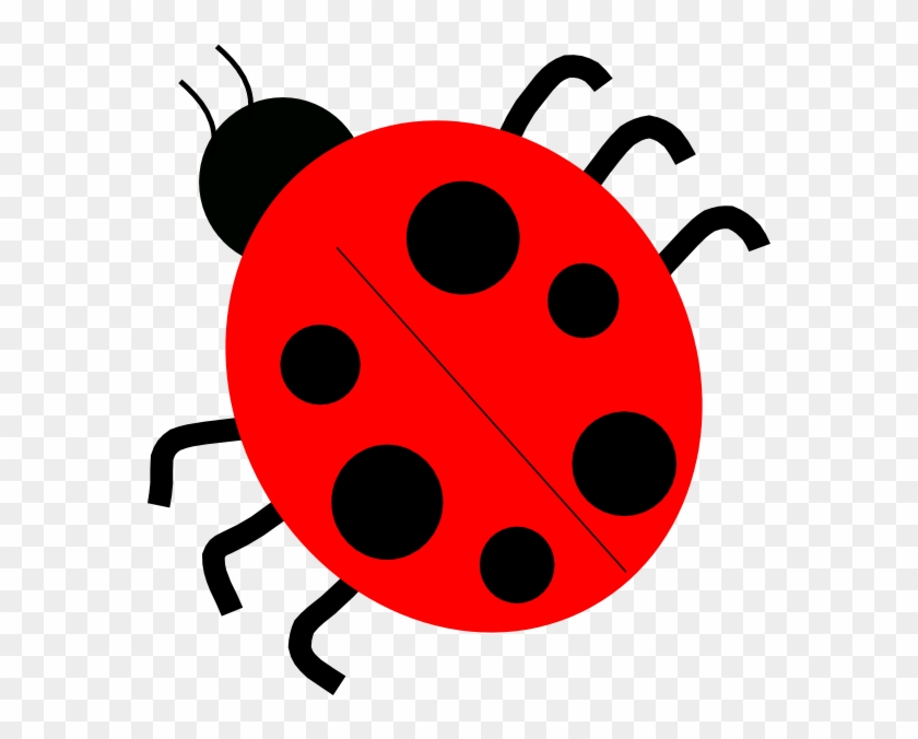 Ladybugs Clipart Red Ladybugs Clip Art At Clker Vector - Many Legs Does A Ladybug Have #45722