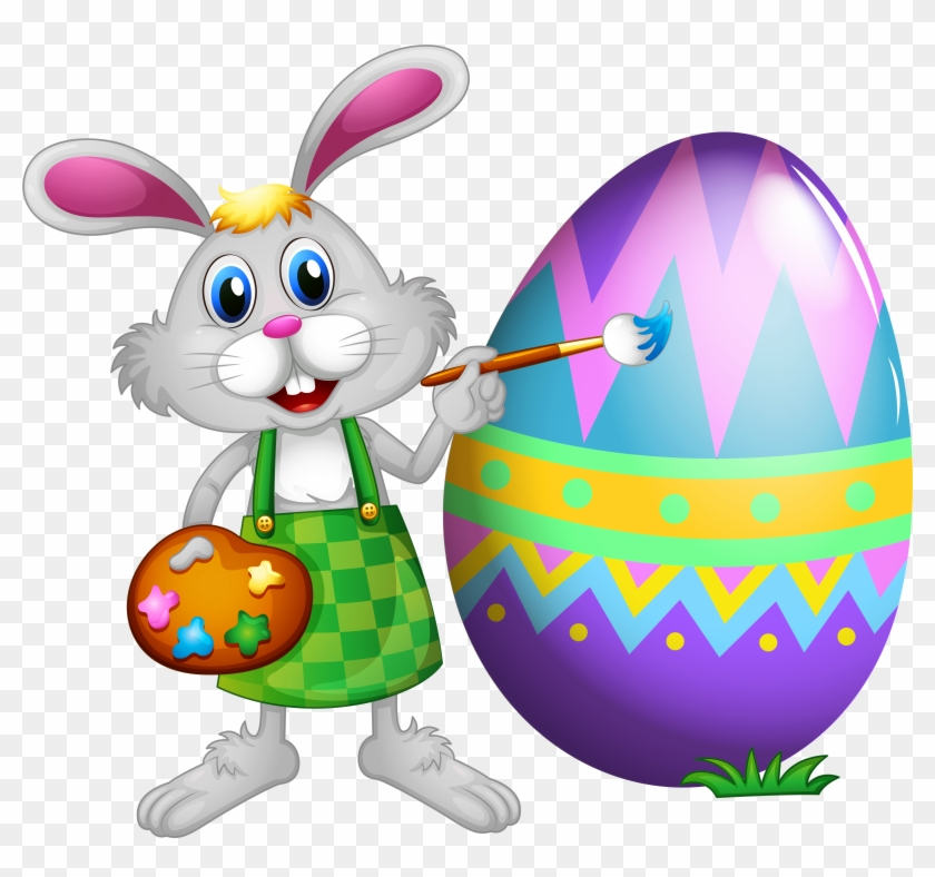 Clip Art Free Clipart Easter - Easter Is Not About Eggs And Bunnies #45763