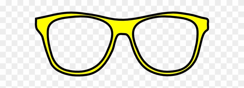 Sunglasses Clipart Free Clip Art Image - Clip Art Yellow Sunglasses #45756