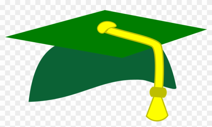 Graduation Cap Legal Edison High School - Graduation Hat Clip Art #45760