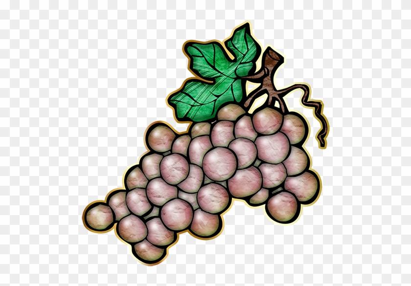 Chablis Grapes 72-512x512 - Food Clip Art #45874