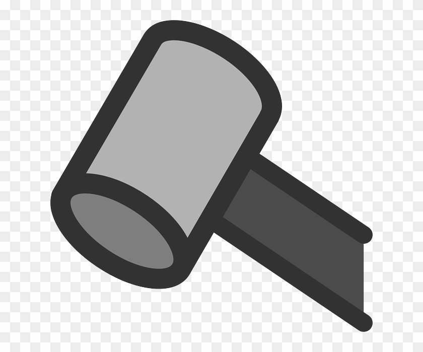 Flat, Law, Hammer, Tool, Meeting, Auction, Judge - Hammer #45907