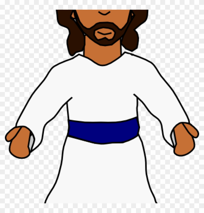Jesus Clipart Jesus Clip Art Black And White Clipart - Jesus #46040