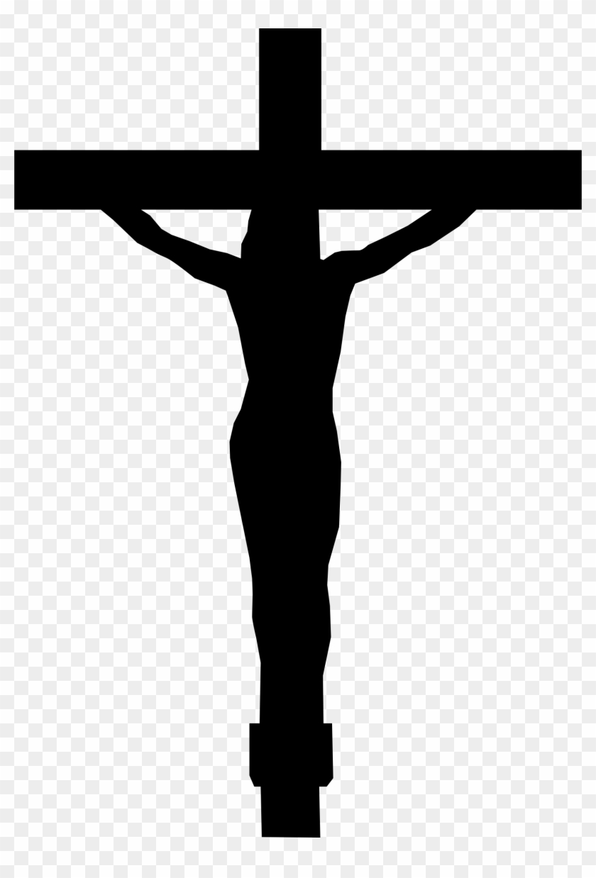 Jesus Cross Clip Art - Christ On The Cross #46060