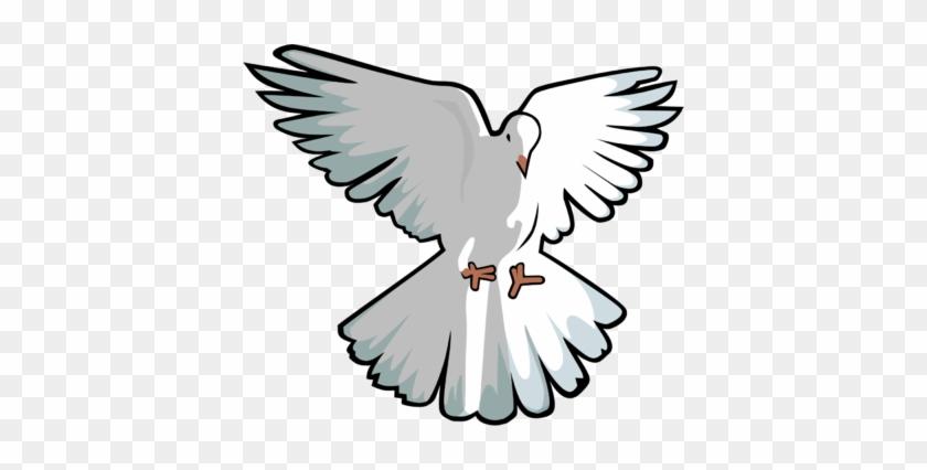 Image Hovering Dove Dove Clip Art Christart - Dove Clipart #46101