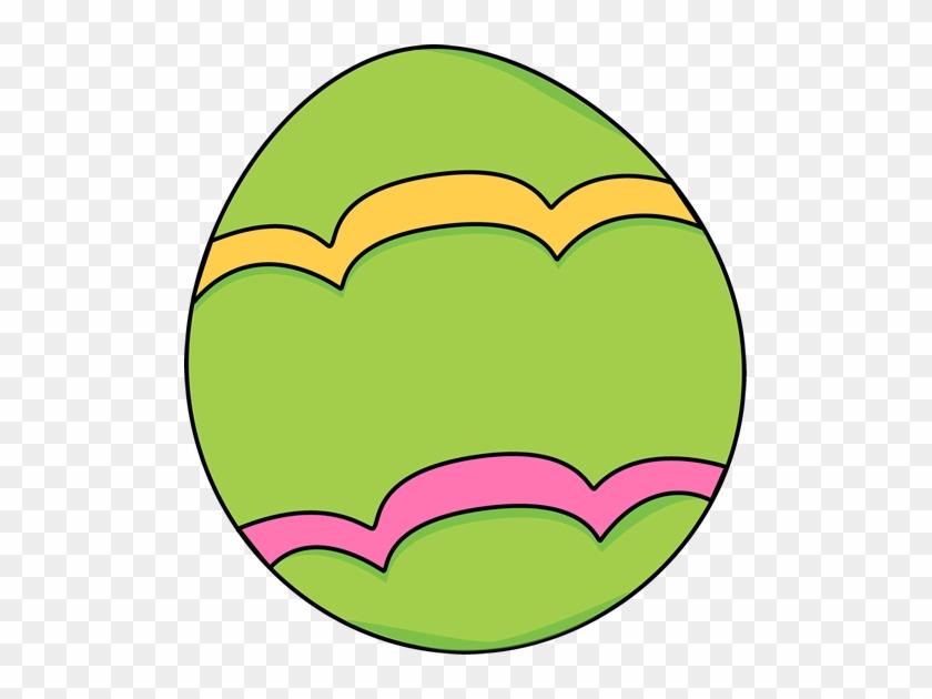 Egg Clip Art - Green Easter Egg Clip Art #46112