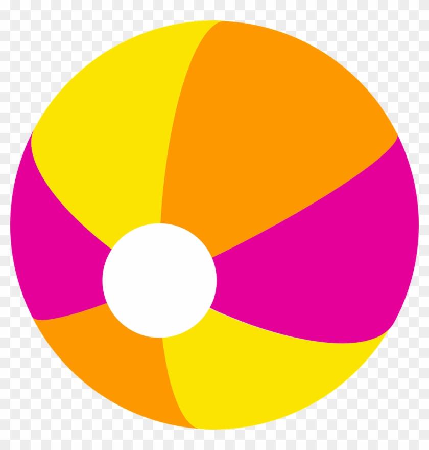 Peachy Design Ideas Beach Ball Clipart Clip Art At - Beach Ball Clip Art Png #46395