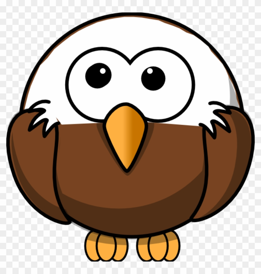 Free Eagle Clipart Eagle Clip Art At Clker Vector Clip - Bald Eagle Round Ornament #46535