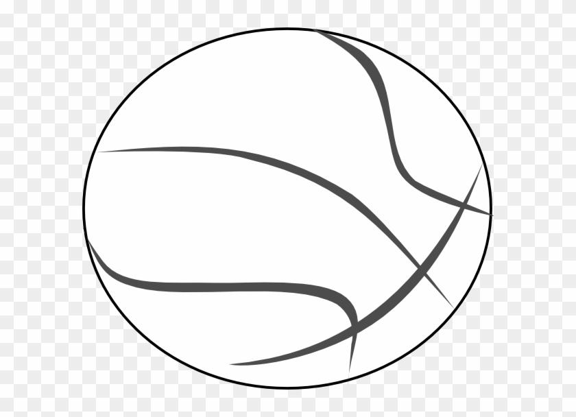 Basketball Outline Clip Art - Raytown South High School #46562
