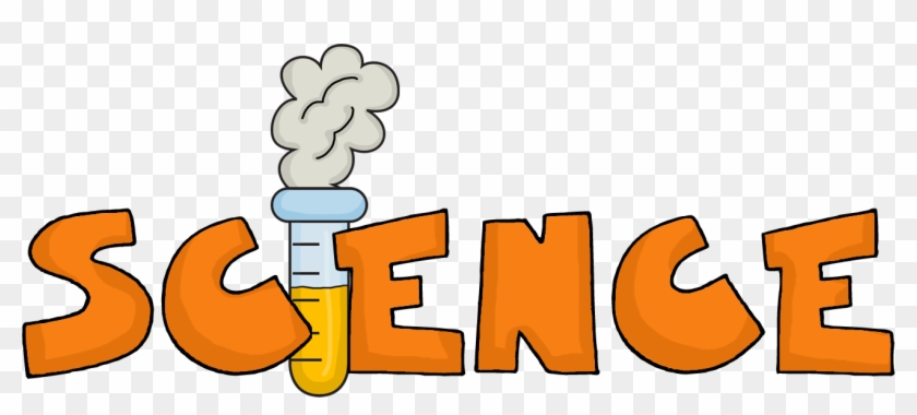 Project In Science Word Clipart - Science In Bubble Letters #46610