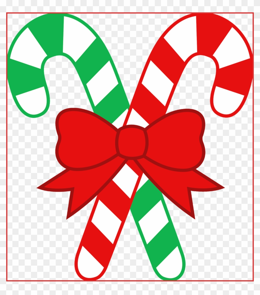 Holiday Clip Art - Candy Canes Clip Art #46679