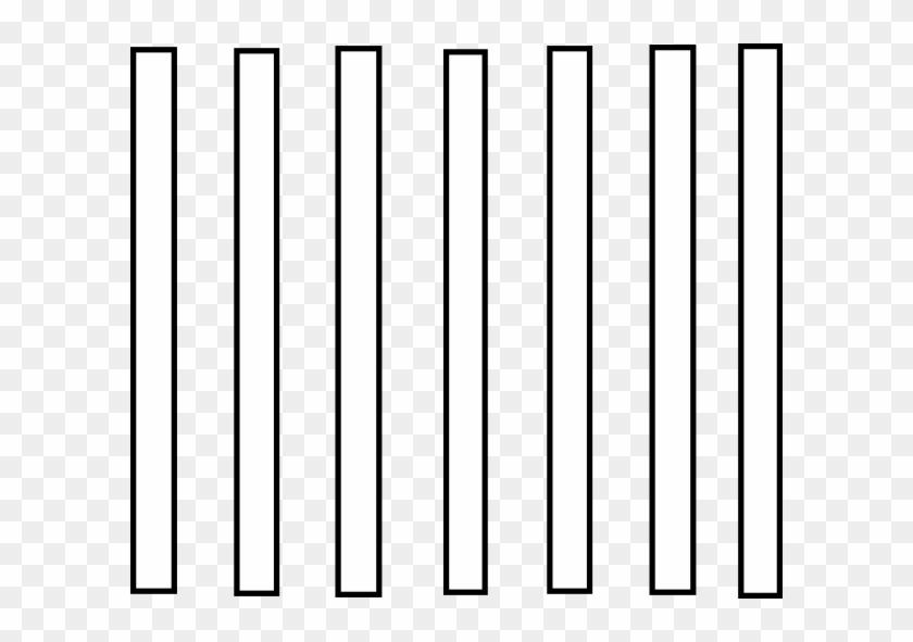 Cartoon Jail Cell - Jail Bars Clip Art #46738