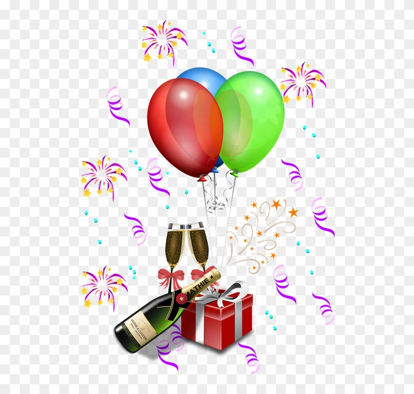 Most Like And Views Cliparts - New Year Celebration Clip Art #46788