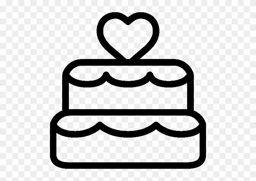 Holidays Wedding Cake Icon - Free Wedding Photo Booth Props #46820
