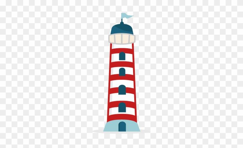 Lighhouse Clipart Cute - Nautical Clip Art Light House #46825