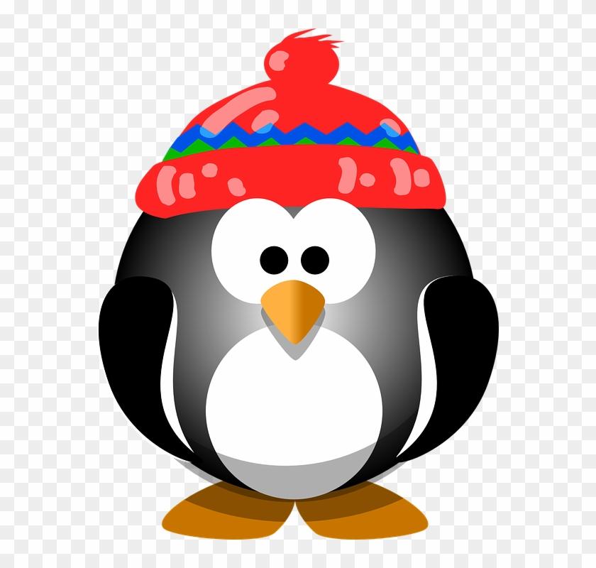Clip Art Cute Penguins #46903