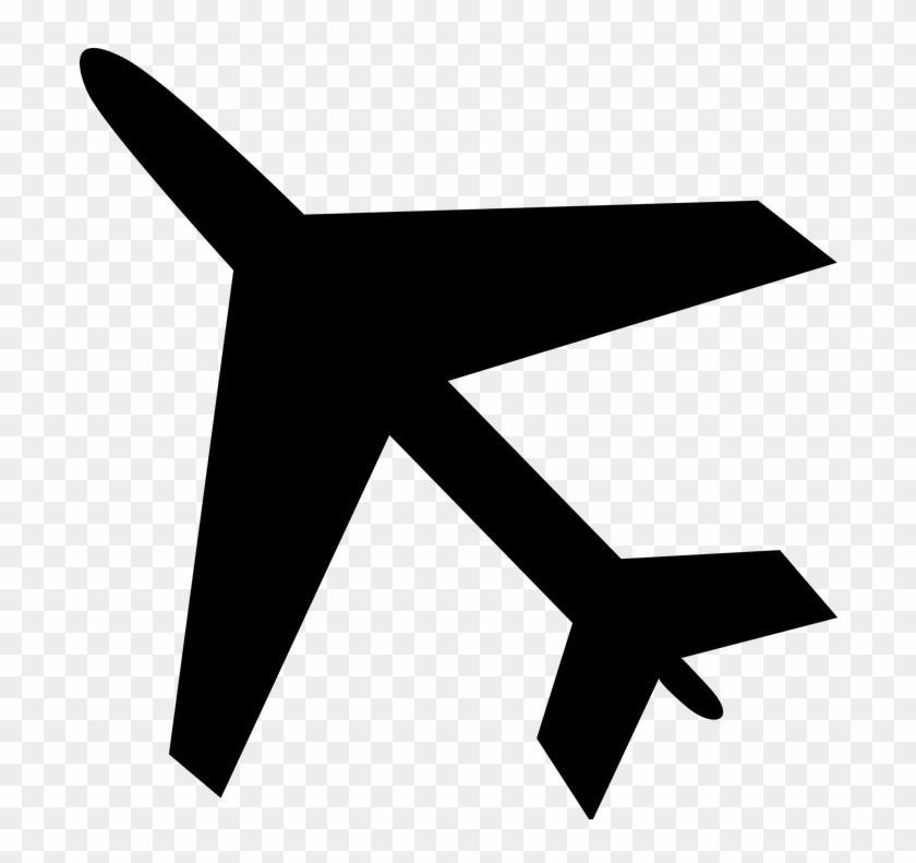 Aircraft Icon Traffic Shield Holiday Travel - Airplane Icon High Resolution #46967