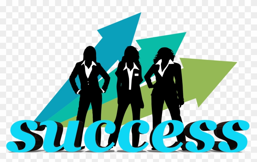 Business Success Clipart - Business Women's Day 2017 #47262