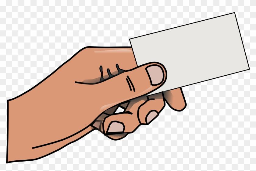 Card, Business, Business Card, Call Card, Blank - Business Card Clip Art #47296