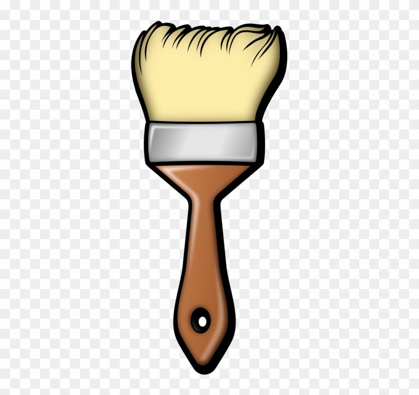 Brush Clip Art - Paint Brush Cut Out #47357