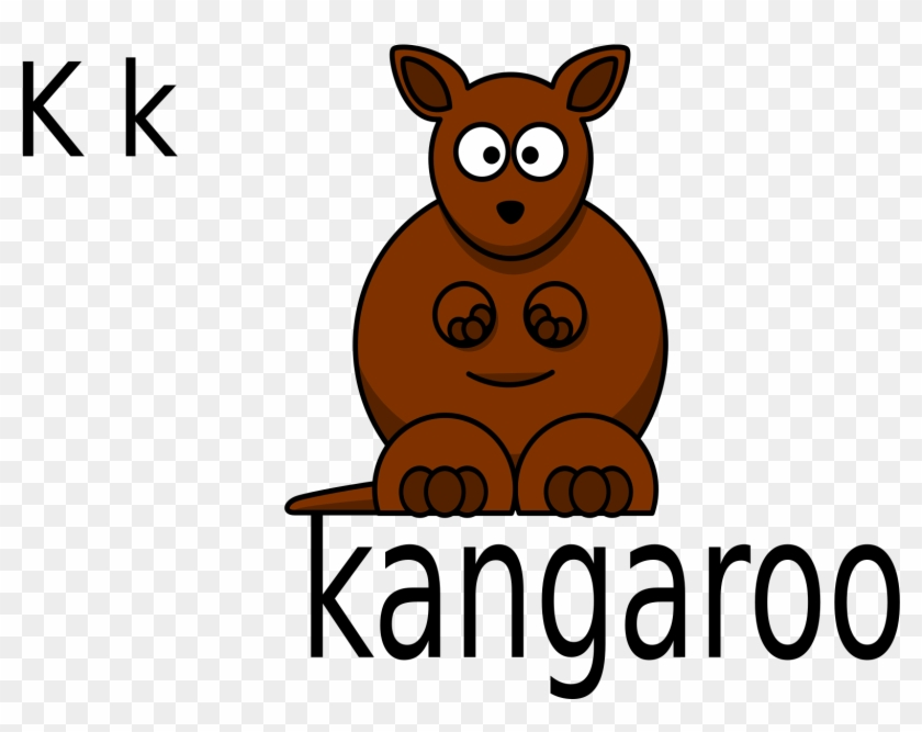 For Kangaroo - K Is For Kangaroo #47436