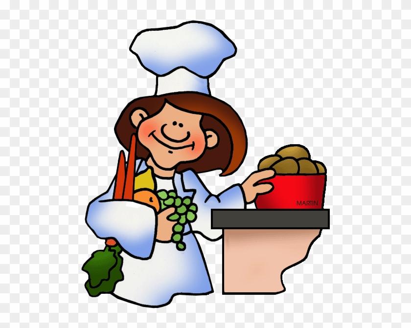 Chef - Philip Martin Clipart Food #47661