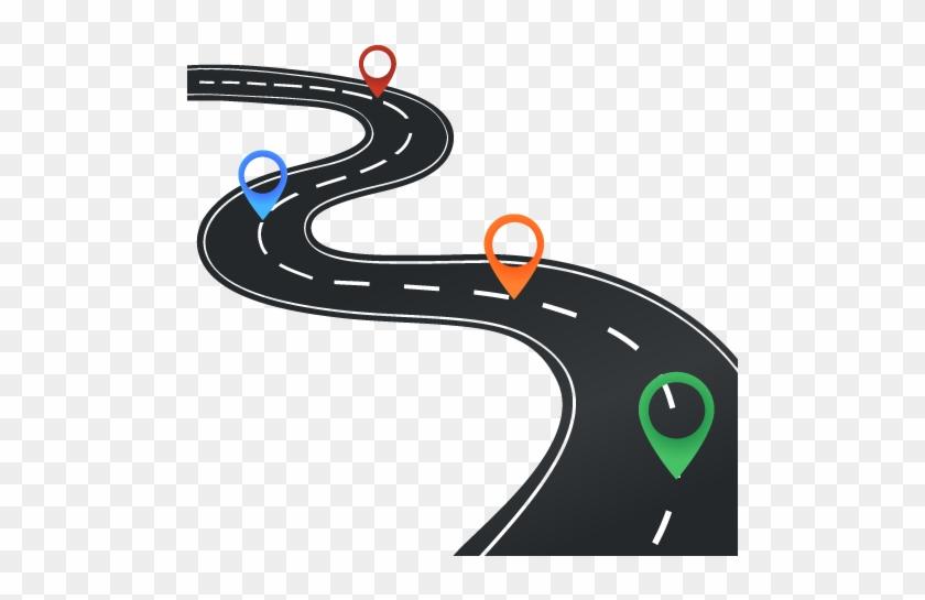 Paper Technology Roadmap Road Map Clip Art - Road Map Clip Art #47769