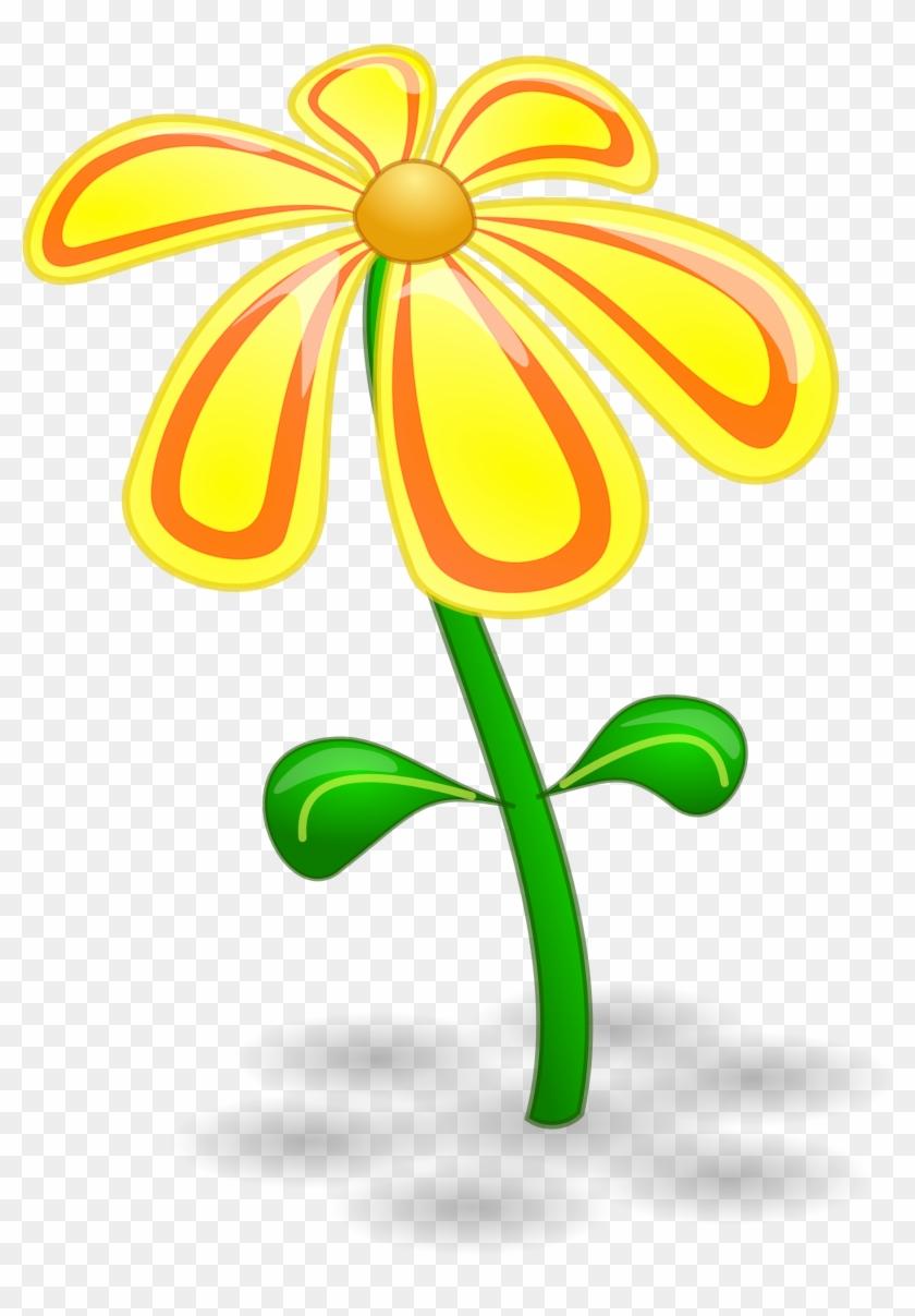 Yellow Flower Clipart February Flower Yellow Flower Clip Art