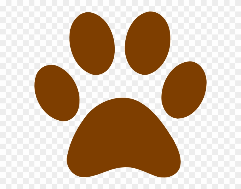 Grizzly Bear Paw Print Clipart Clipart Panda Free Clipart - Brown Paw Print #47912