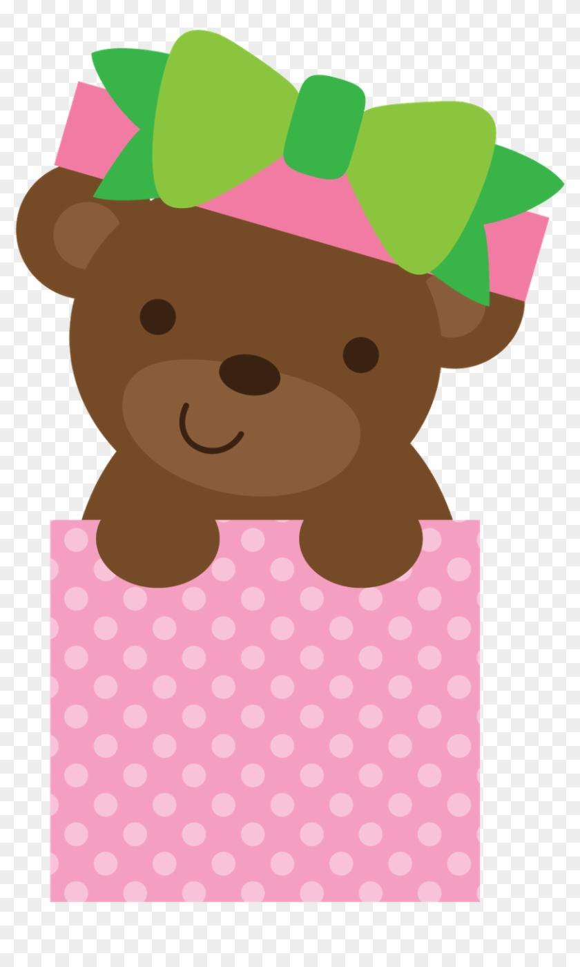 Ursinhos E Ursinhas - 2 Little Bears Clipart Printable #47979