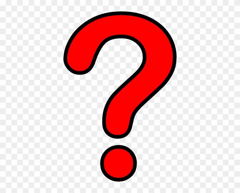 Question Mark Clipart Question Mark Clip Art Question - Red Question Mark Png #48001