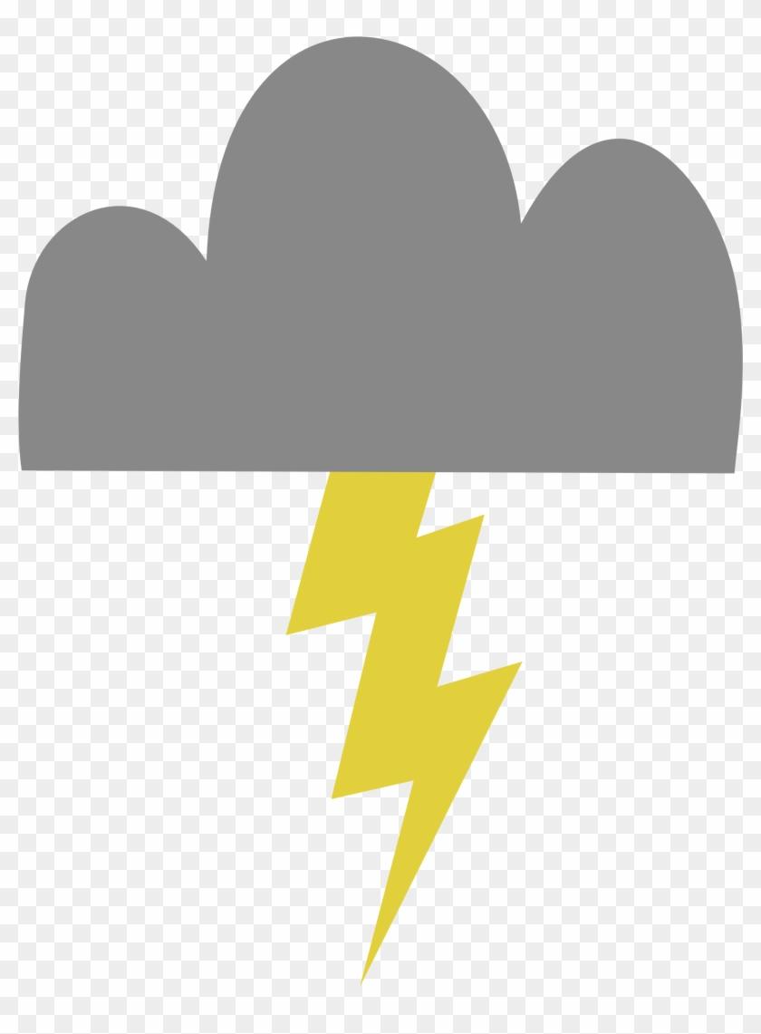 Lightning Bolt's Cutie Mark - Mlp Lightning Bolt Cutie Mark #48041