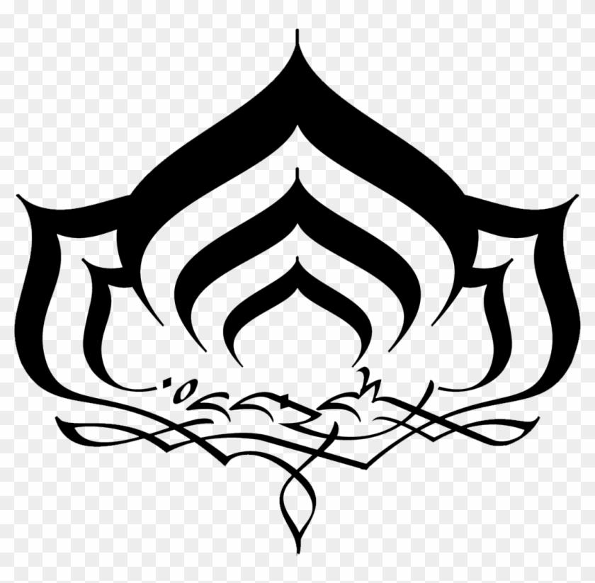 Lotus Icon Warframe Lotus Symbol Free Transparent Png Clipart