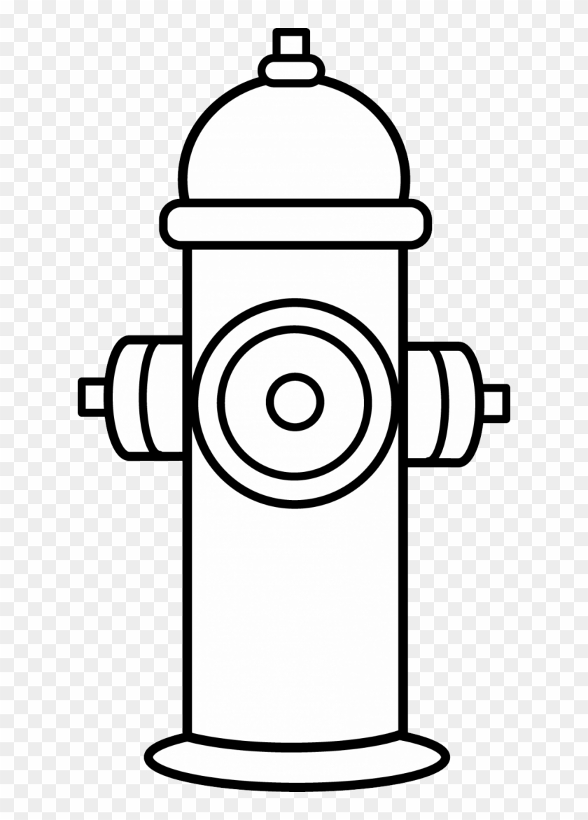 fireman hat clipart - fire hydrant coloring page - free transparent