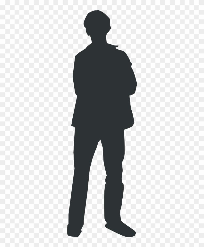 Onlinelabels Clip Art - Person Outline #48186