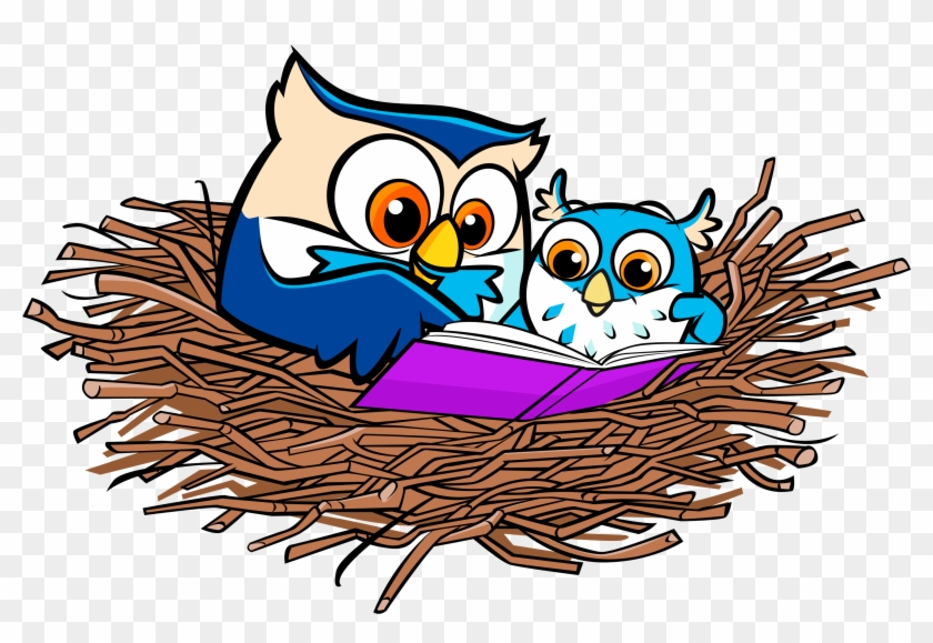 Did You Know On Average, Americans Spend Two Hours - Owl In Nest Clip Art #48205