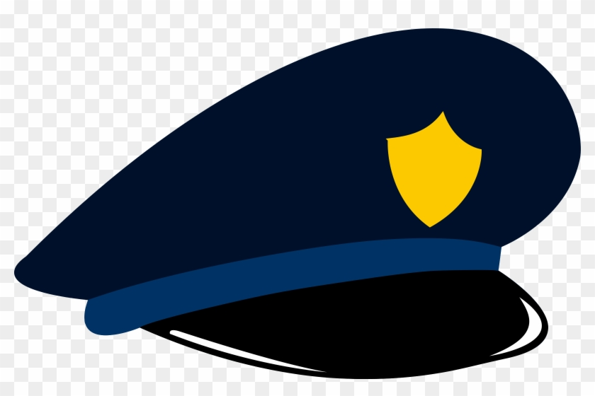 Authority - Clipart - Cartoon Police Hat #48296