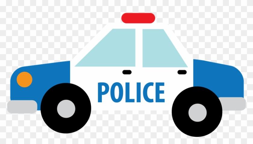 Say Hello - Carro De Policia Desenho Png #48313