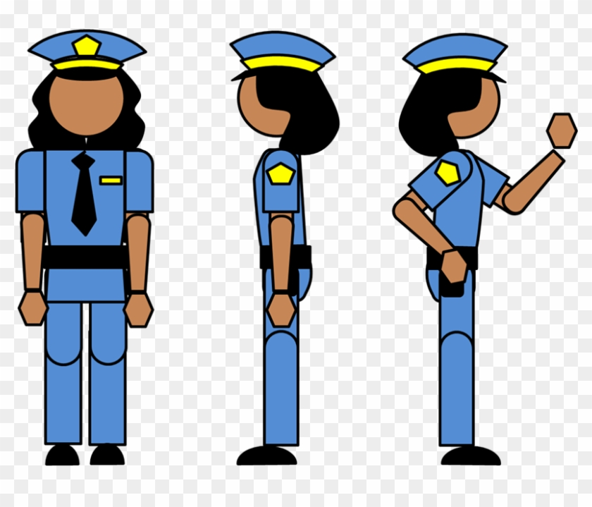Police Officer - Draw A Police Officer #48323