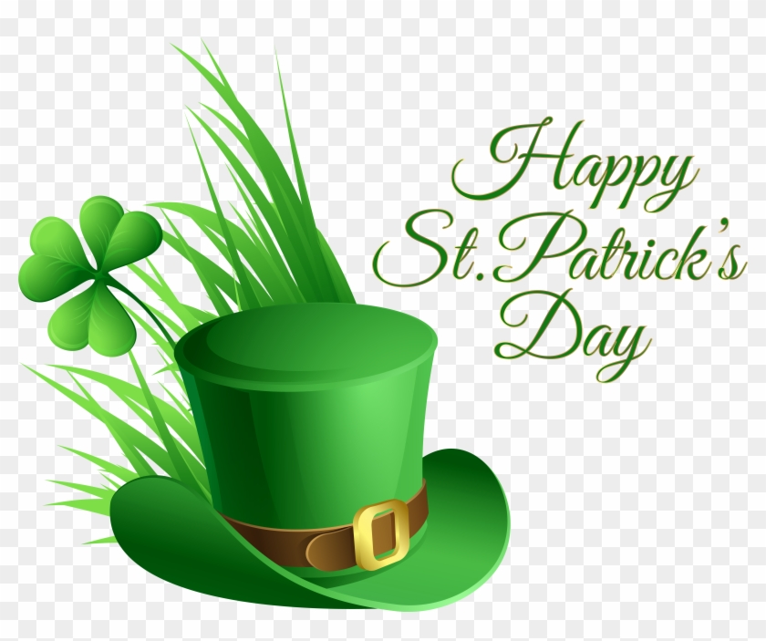 Rosa, Hat, Green St Patrick Day Clip Art Png Images - San Patrick Day 2018 #48413
