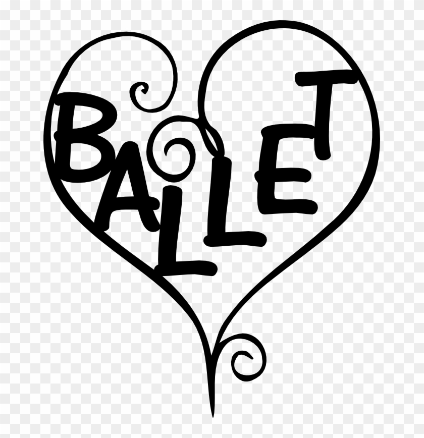Other Popular Clip Arts - Ballet Word Clipart #48429