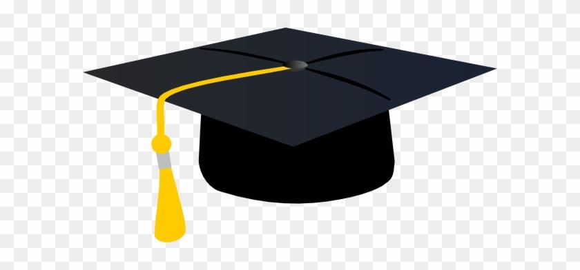 Vector Graduation Cliparts - Graduation Cap Green Tassel #48463