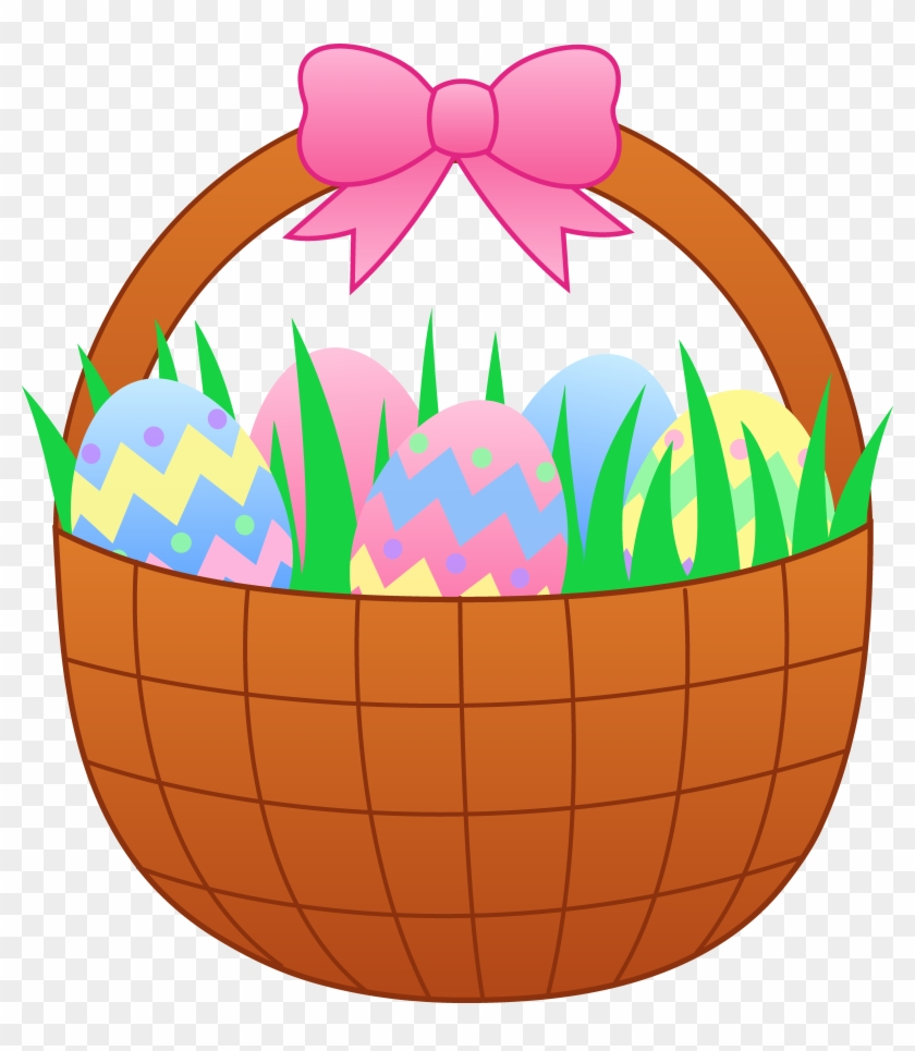 Easter Egg Clip Art Coloring Page - Cute Cartoon Easter Eggs - Free ...