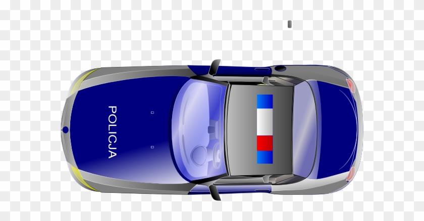 Cartoon Car Top View #48516