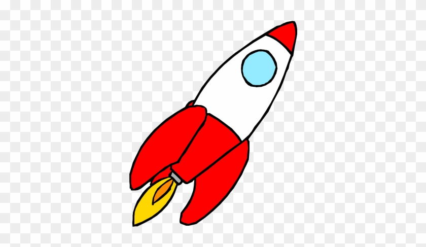 Moving Clipart Rocket - Animated Pictures Of Rocket #48524