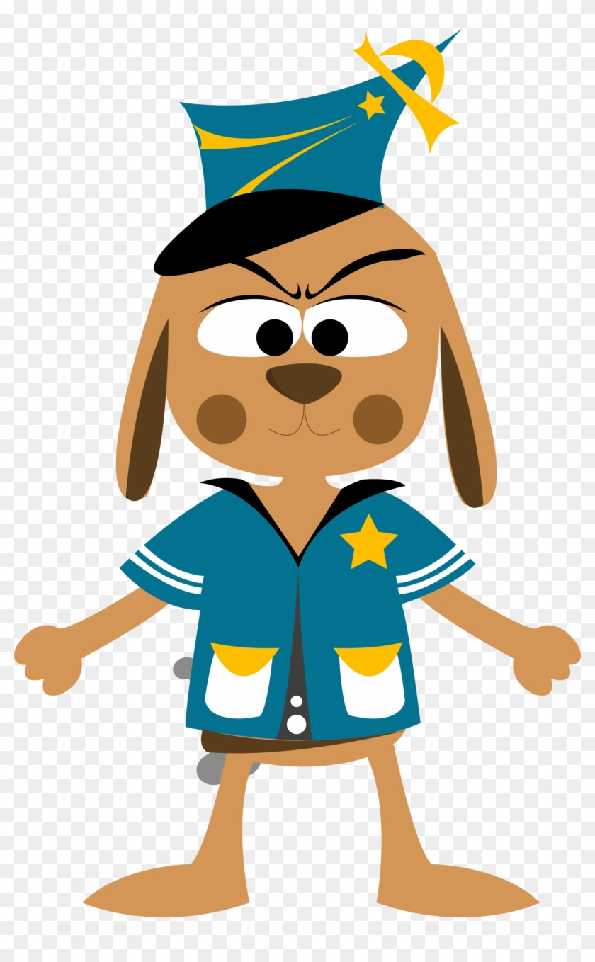 Police Clipart Cute - National Animal Control Officer Appreciation Week 2018 #48661